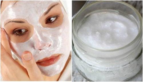 Lag en hjemmelaget ansiktsrens for å fjerne døde hudceller