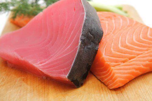 Fet fisk for å beskytte øynene dine
