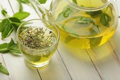 Grønn te for å beskytte øynene dine