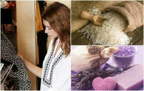 7 triks for å bli kvitt irriterende lukt i klesskapet