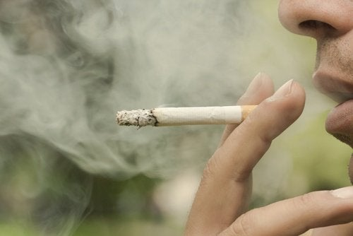 Sigarett nærbilde