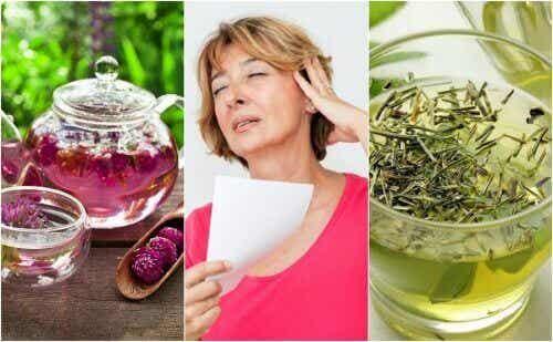Reduser hetetokter i overgangsalderen med 6 naturlige remedier