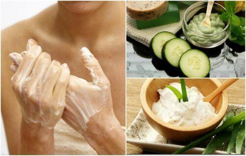 Reduser leverflekker på hendene dine naturlig