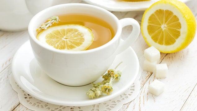 Sitronskallinfusjon for å behandle fettleversykdom