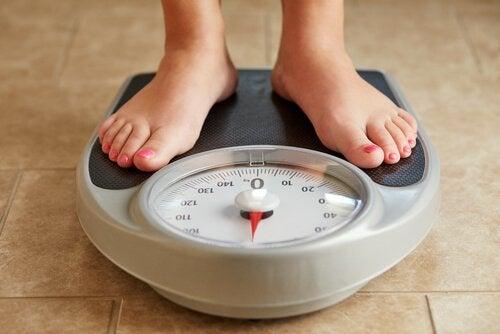 Kvinne på vekt