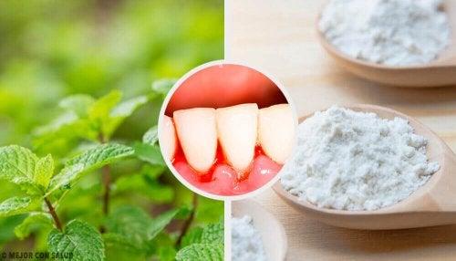5 effektive hjemmebehandlinger for gingivitt