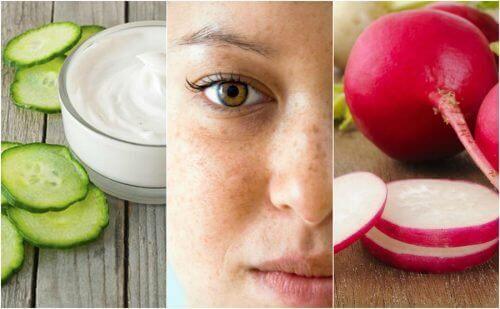 Reduser flekker i ansiktet ditt med 5 naturlige behandlinger