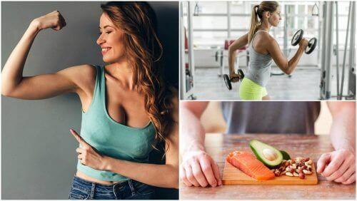 5 vaner som du bør vedta hvis du ønsker å få muskelmasse naturlig