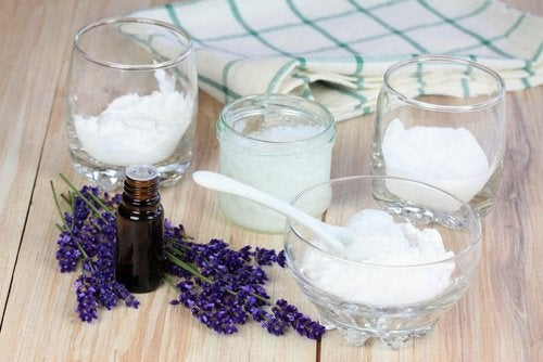 Leire- og kokosnøttoljedeodorant