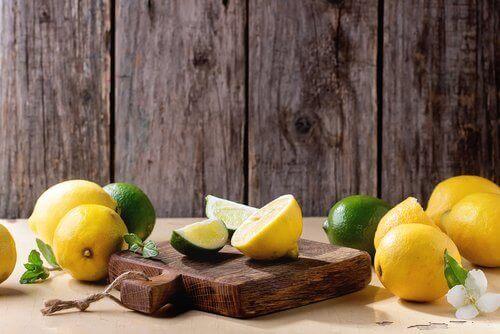 Sitroner og lime