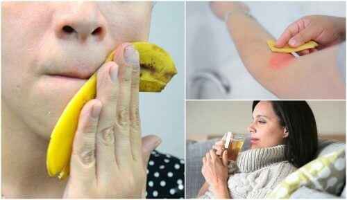 8 fascinerende måter å bruke bananskall på