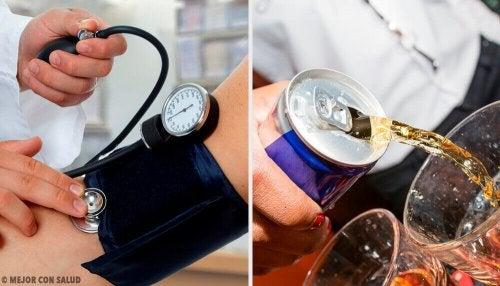 Drikker som øker blodtrykket