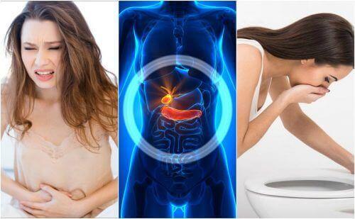 6 tegn på galleblæreproblemer