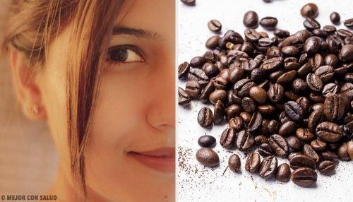 5 ansiktsmasker med kaffe for fastere hud