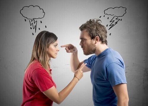 Konflikt i et forhold