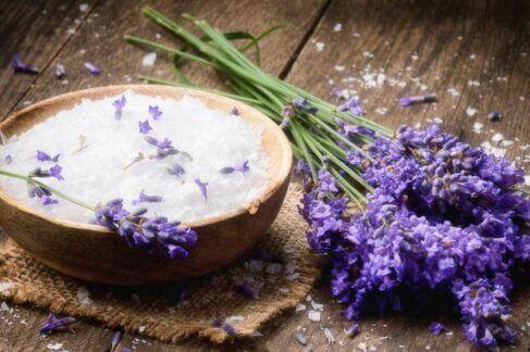 Lavendel kan også brukes rundt huset