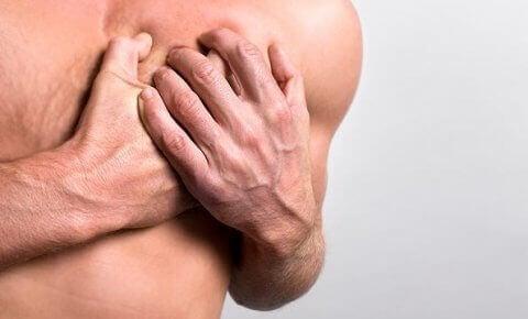 smerter i brystet stress