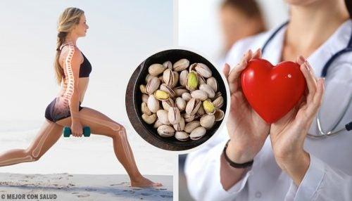 10 grunner til å spise pistasjnøtter