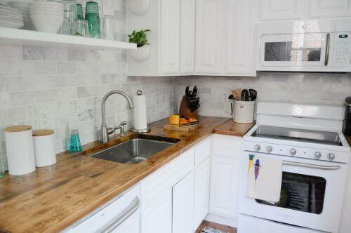 4 perfekte dekorative ideer for små kjøkken