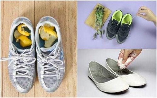 Slik forhindrer du stinkende sko med 5 naturlige metoder