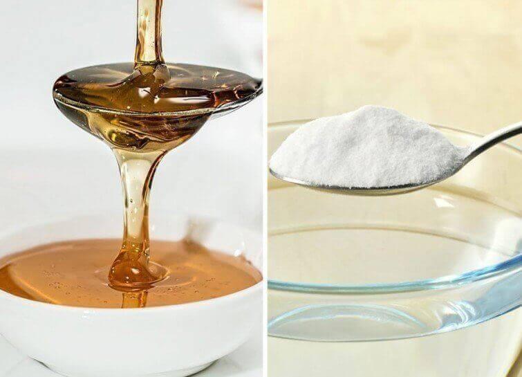 Fordelene med kombinasjonen av natron og honning