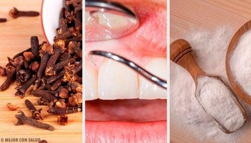 Bli kvitt betent tannkjøtt med disse naturlige remediene