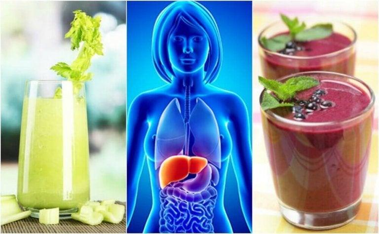 Rens leveren din med 4 frukt- og grønnsakssmoothies