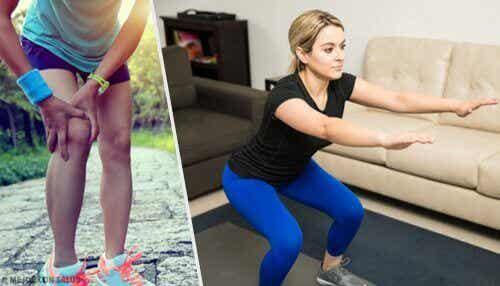 5 tips og øvelser for sterke knær