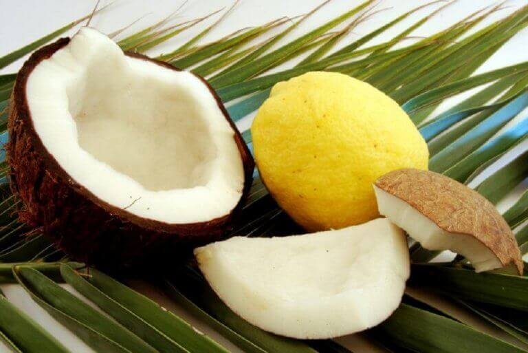 Kokos og sitron