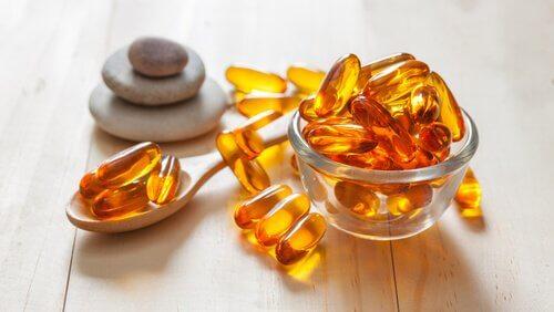 Vitamin E-kapsler