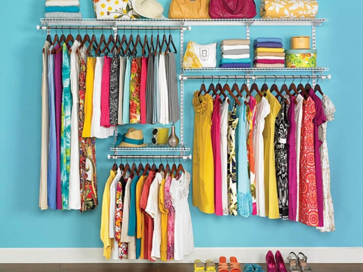 Oppbevaring av klær