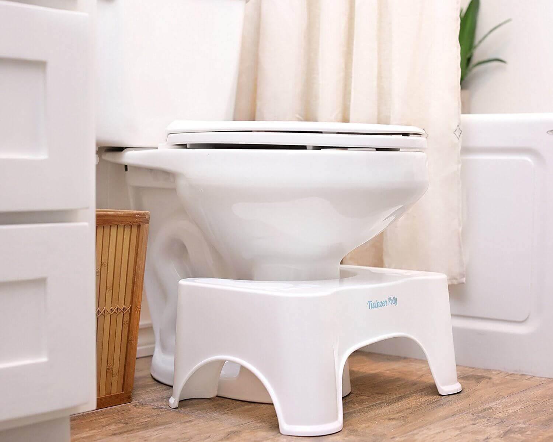 Toalett med krakk