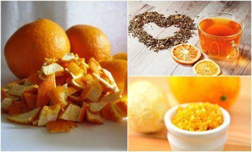 Appelsinskall: fem alternative bruksområder