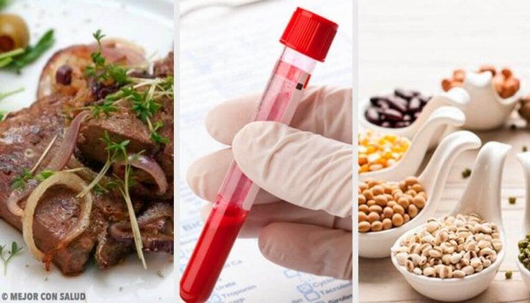5 matvarer for sunnere blod og en lykkelig kropp