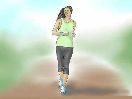 En tur om dagen kan hjelpe deg med å holde deg i form