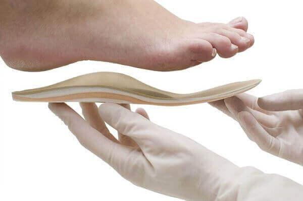Bruk ortopediske innleggssåler