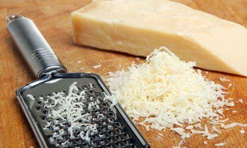 Spis mer protein ved å legge til parmesanost til kostholdet ditt