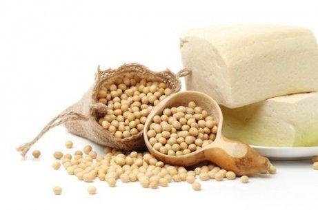 Soya er en kilde til protein