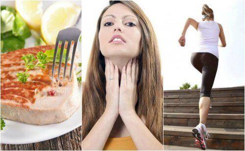 6 helsetips for å forbedre skjoldkjertelfunksjonen