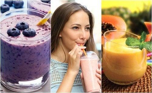 5 sunne smoothier for din daglige frokost