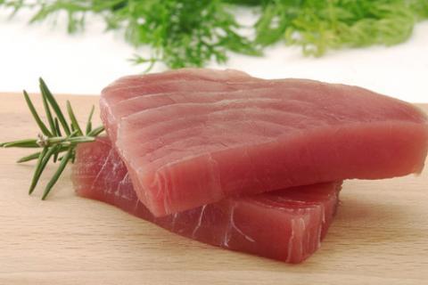 Tunfisk har mye protein