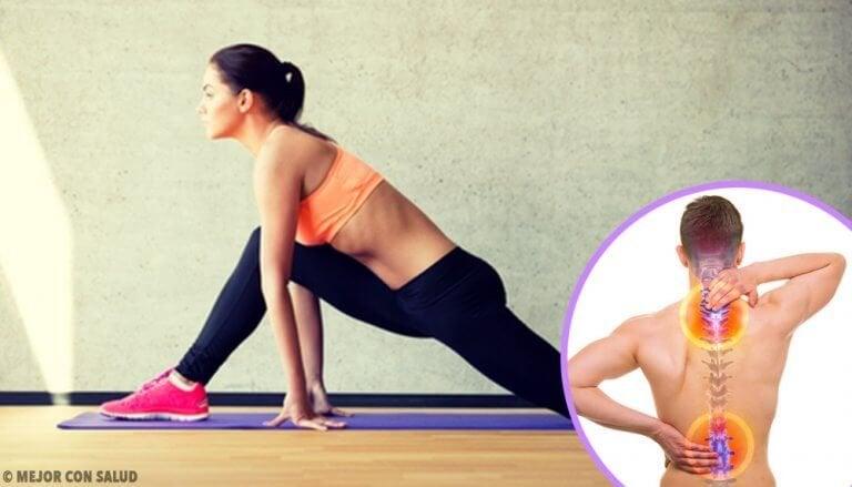 6 øvelser for å tone ryggen din