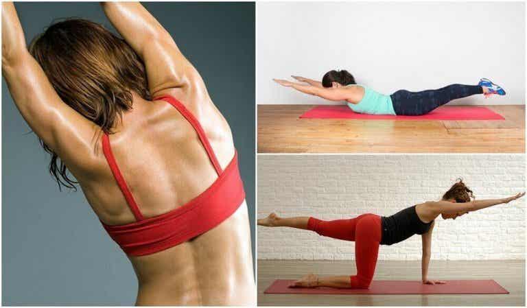 5 vektfrie øvelser for ryggen din