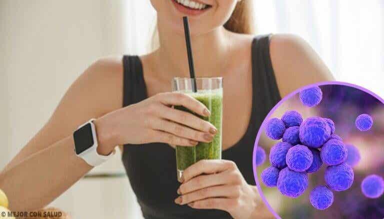 Fire shakes for å bli kvitt toksiner