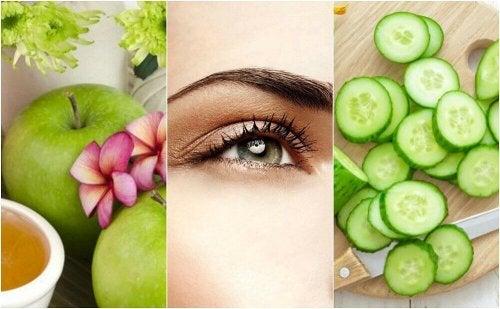 5 naturlige behandlinger for å løfte tunge øyelokk