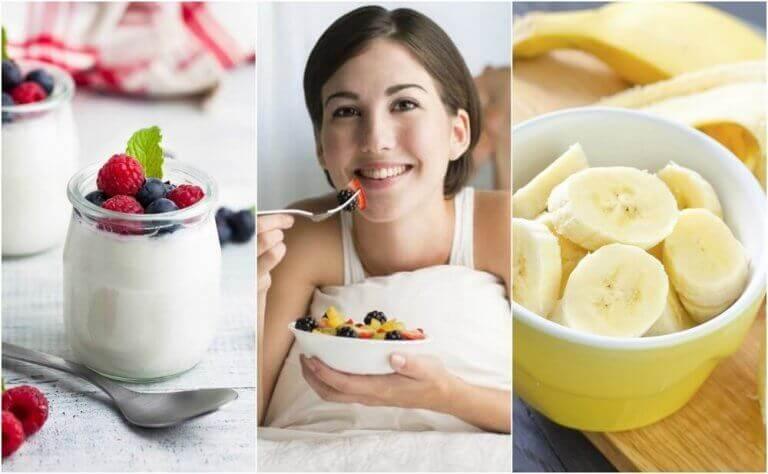 6 sunne snacks du kan spise før du går til sengs