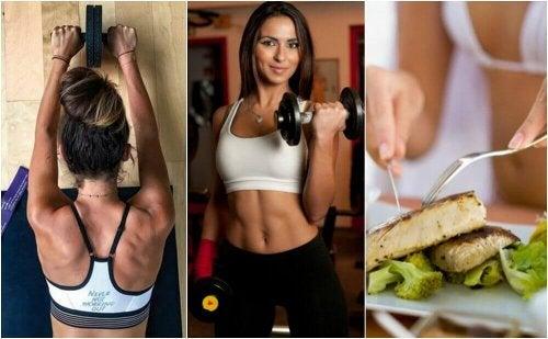 Bygg muskelmasse og forbrenn fett med disse raske tipsene