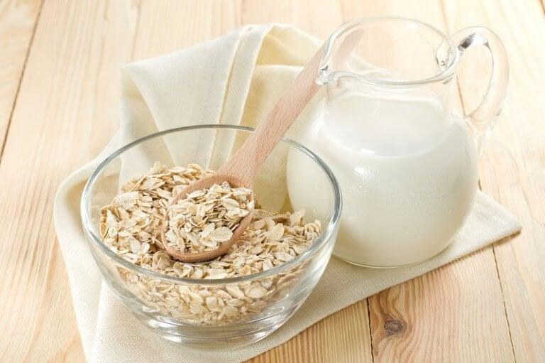 Havre og melk