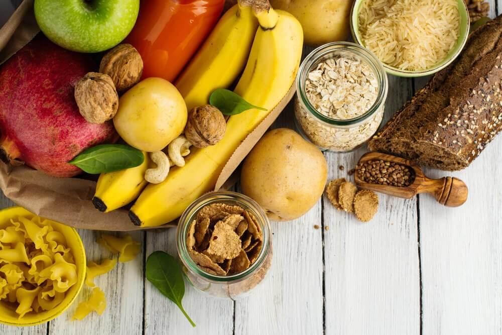 Frukt og fullkorn