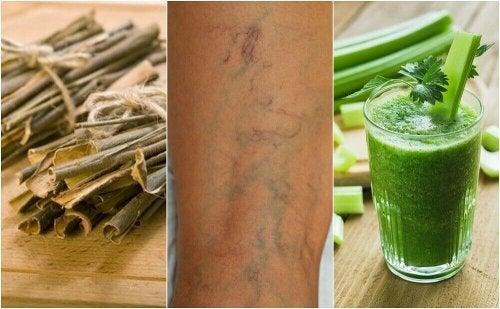 5 planter som bidrar til å øke blodsirkulasjonen